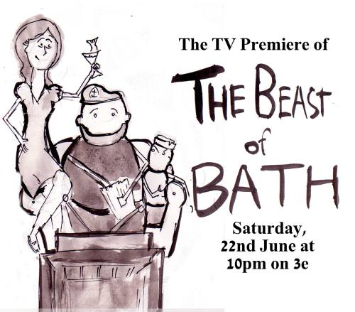 Beast of Bath TV Screening announcement